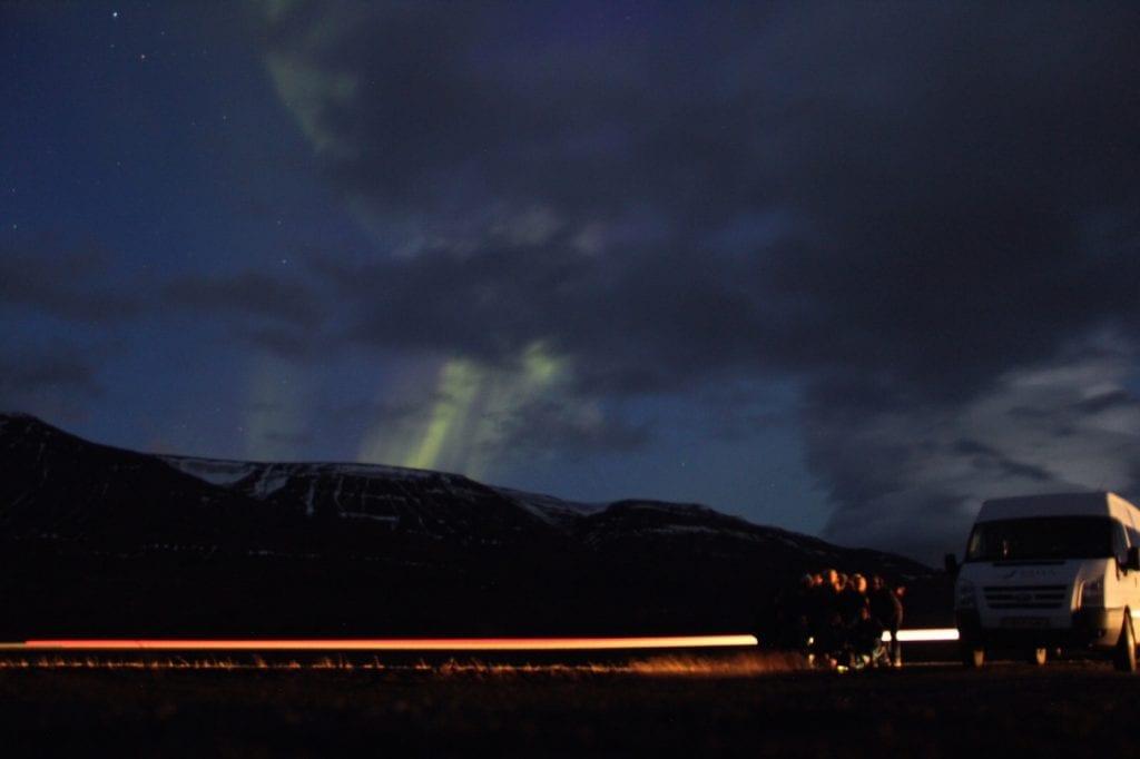 Beste plek om Noorderlicht te zien in IJsland