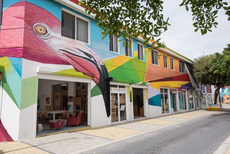 Bezienswaardigheden Aruba vakantie tips San Nicolaas flamingo