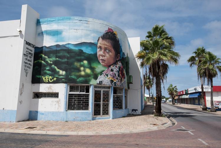 Bezienswaardigheden Aruba vakantie tips San Nicolaas straten-2