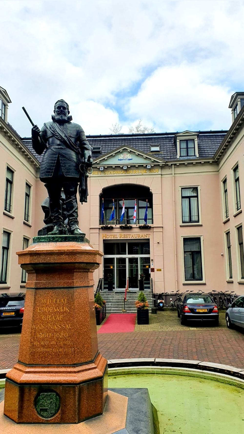 Bezienswaardigheden Leeuwarden, Stadhouderlijk Hof