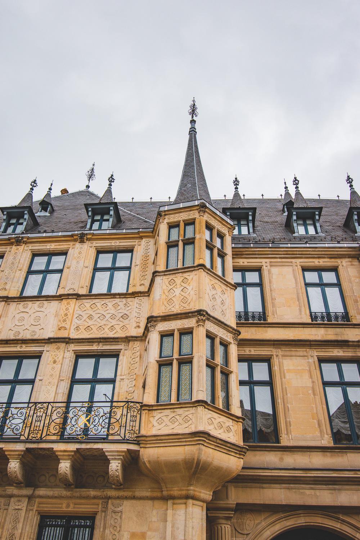 Bezienswaardigheden Luxemburg Stad Groothertogelijk Paleis van Luxemburg