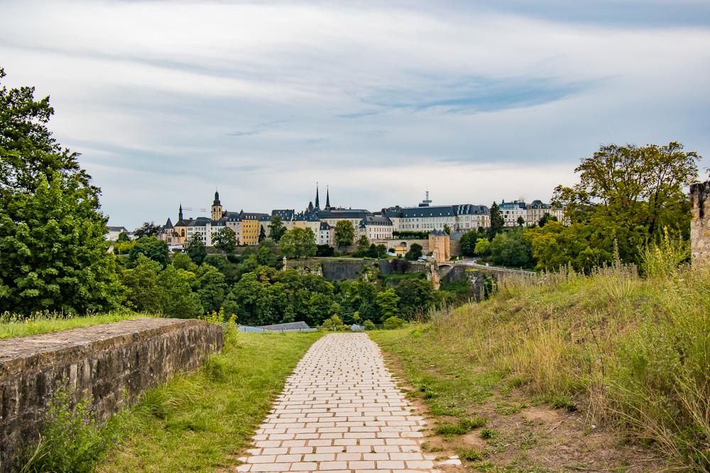 Bezienswaardigheden Luxemburg Stad wandeling