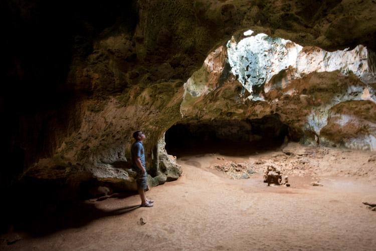 Bezienswaardigheden aruba tips arikok national park grot