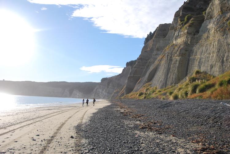 Bezienswaardigheden noordereiland nieuw-zeeland Cape Kidnappers