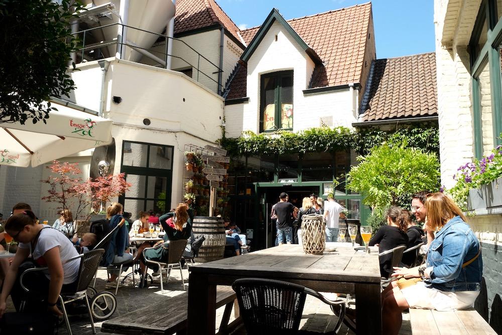 Bier Brugge bezienswaardigheid brouwerij de halve maan