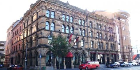 Bijzonder overnachten Belfast Malmaison hotel