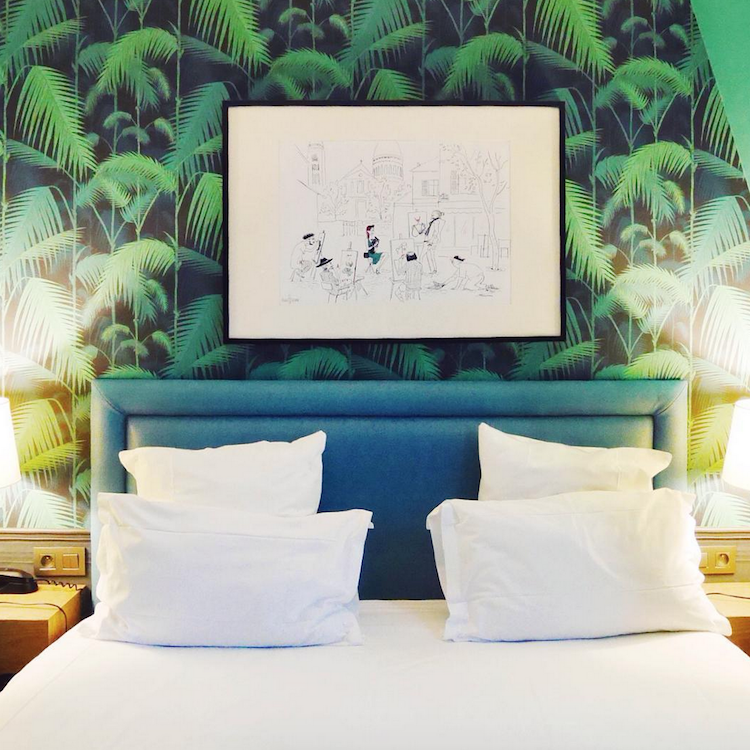 Bijzonder overnachten in Parijs La Parizienne Hotel