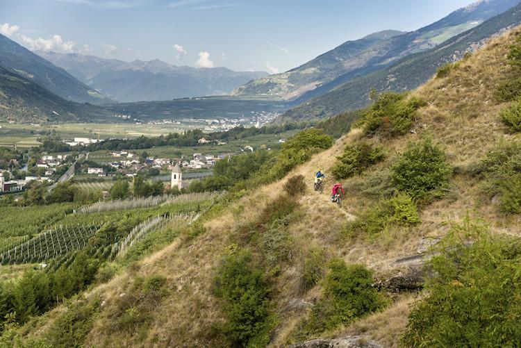 Biken in Zuid Tirol italie