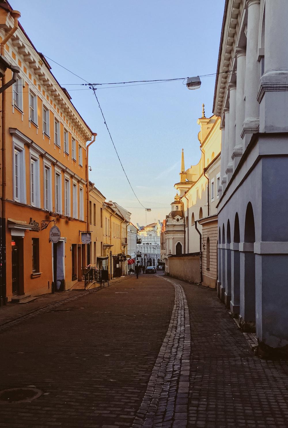 Binnenstad van Vilnius