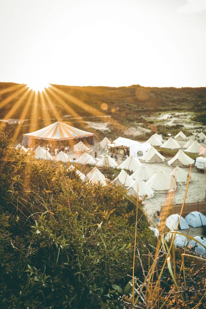 Bloemendaal beach camp
