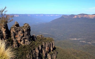 Blue mountains dichtbij sydney