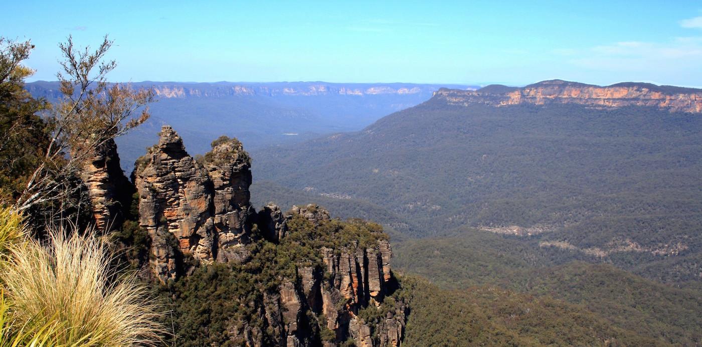 Blue mountains dichtbij sydney