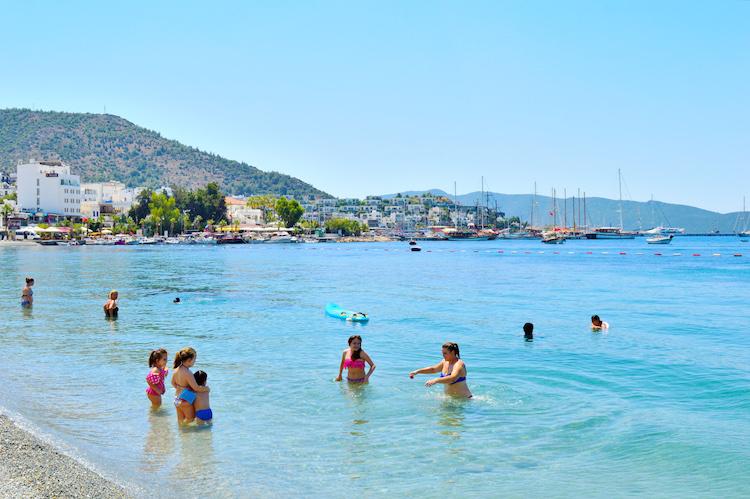 Bodrum zonvakantie turkije_stranden1