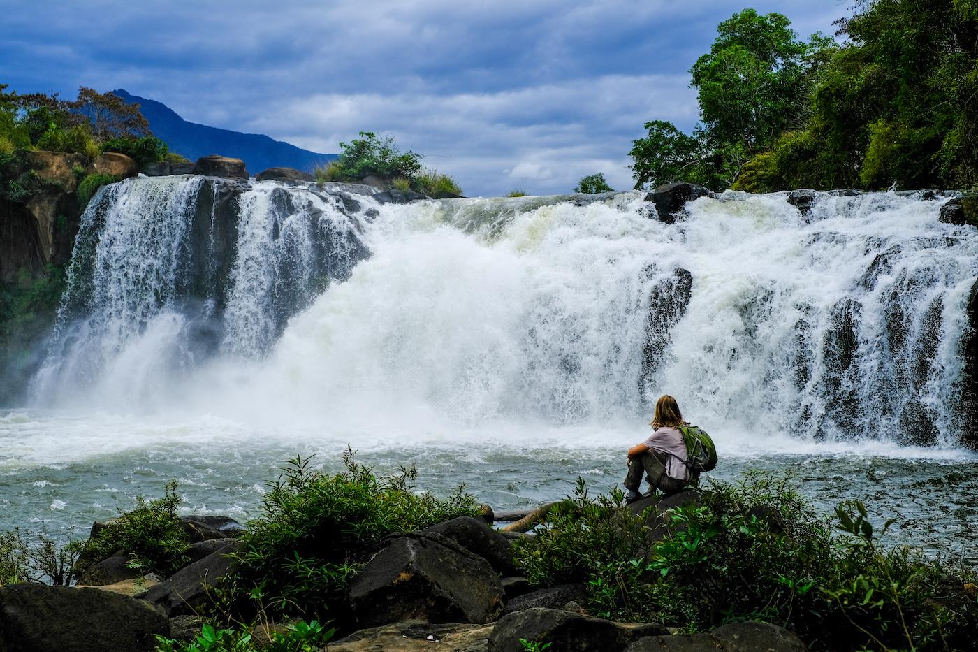 Bolaven Plateau Laos watervallen