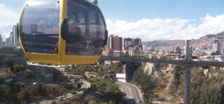 Bolivia La Paz Teleferico kabelbaan