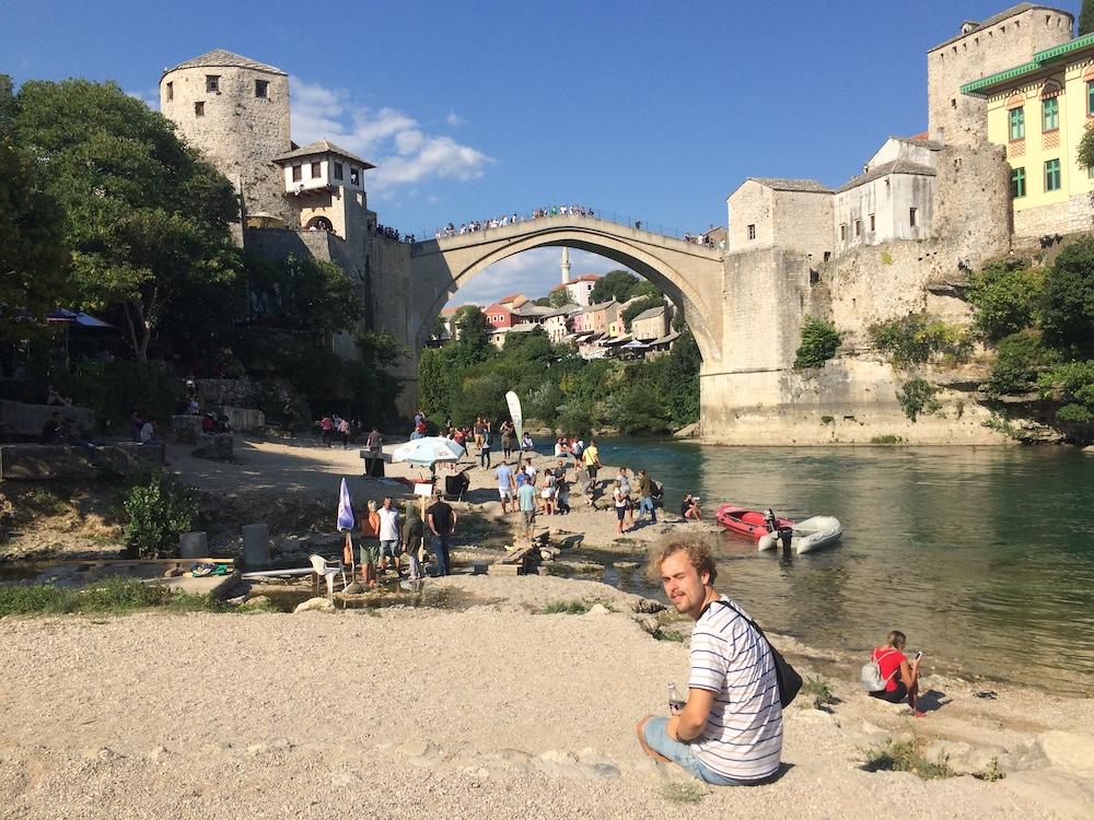 Bosnie Mostar Brug
