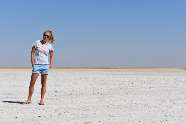 Botswana zoutvlaktes