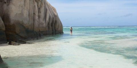 Bounty Eiland Seychellen la digue_