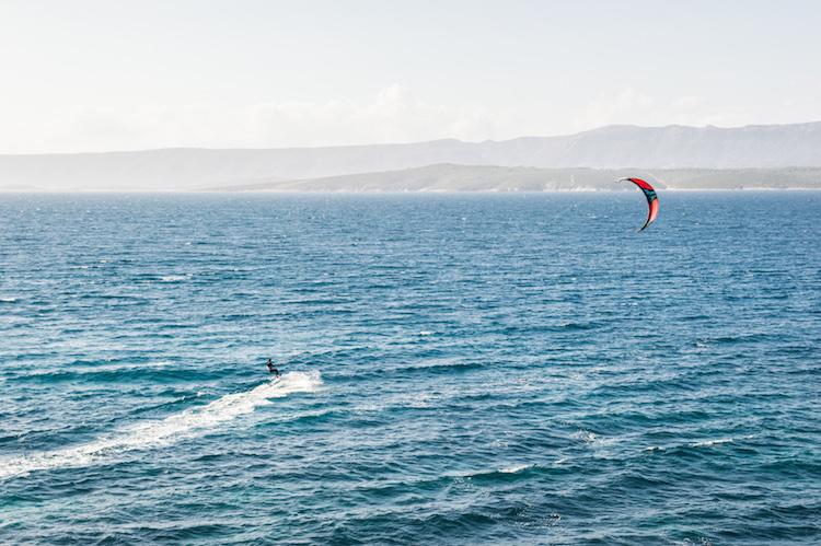 Brac goudenhoorn kitesurfen kroatie