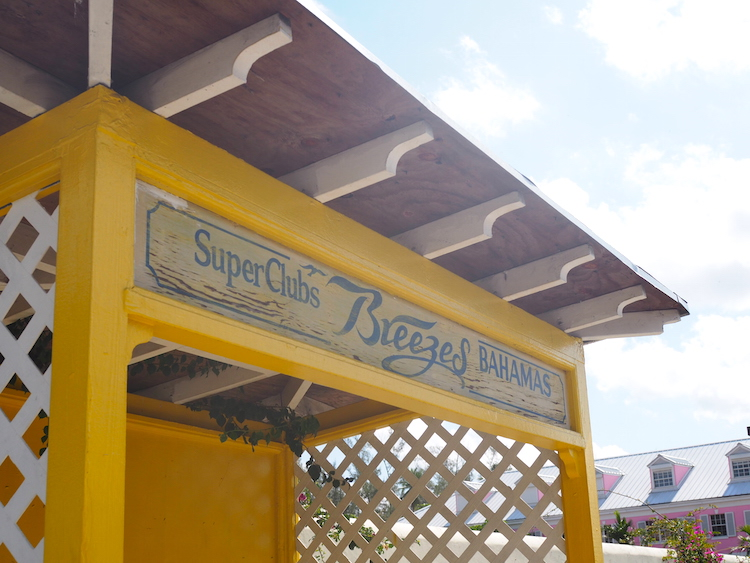 Breezes Resort Bahamas Bus