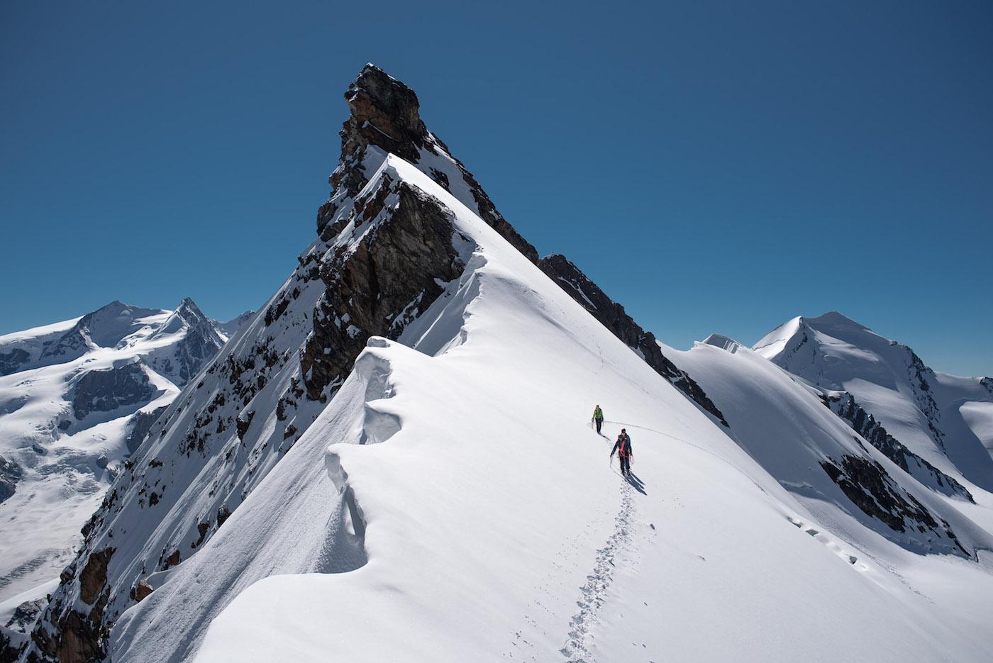 Breithorn beklimmen gemakkelijke 4000ers