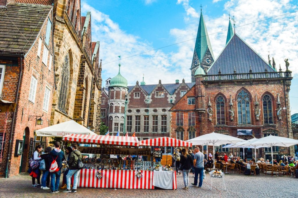 Bremen Marktplatz Duitsland