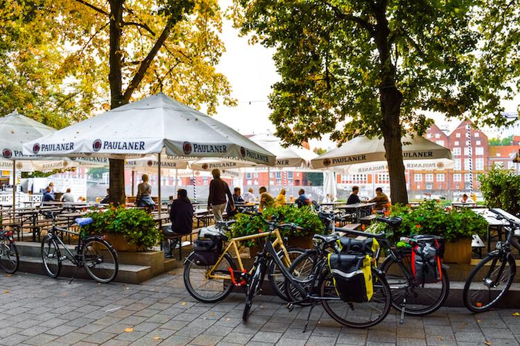 Bremen citytrip Weserpromenade