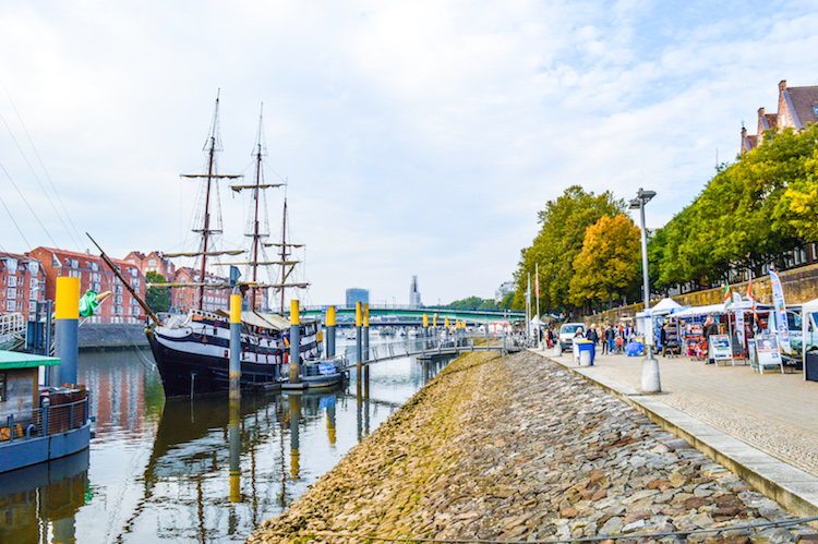 Bremen citytrip tips Weserpromenade