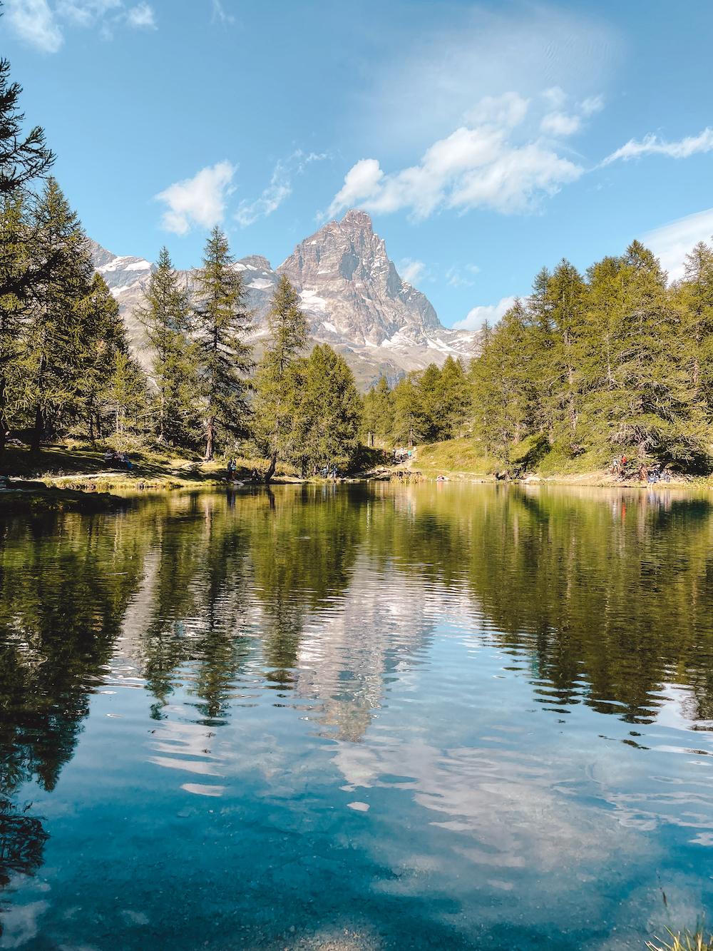 Breuil-Cervinia, Lago Blu