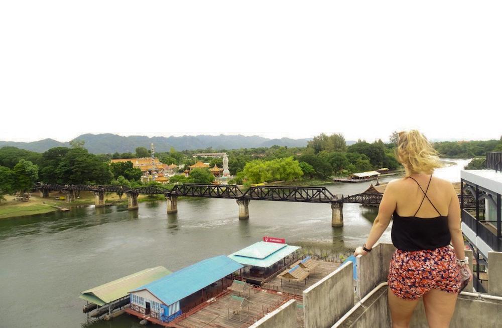 Bridge over the River Kanchanaburi