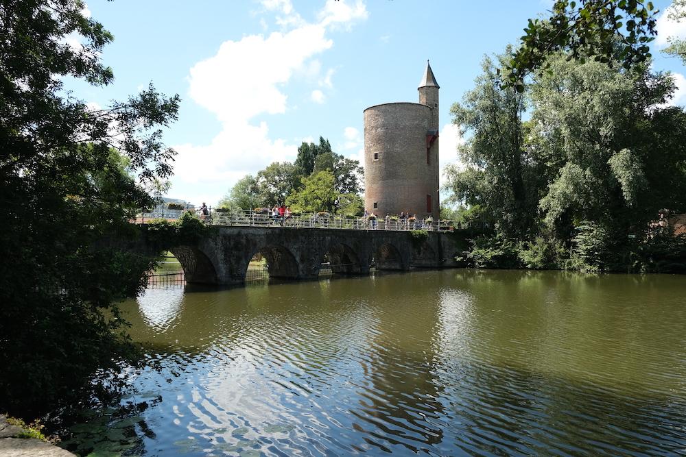 Brugge Loverslake Minnewaterpark Bezienswaardigheid