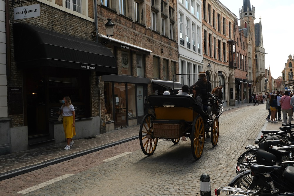 Brugge Wafels eten bezienswaardigheden