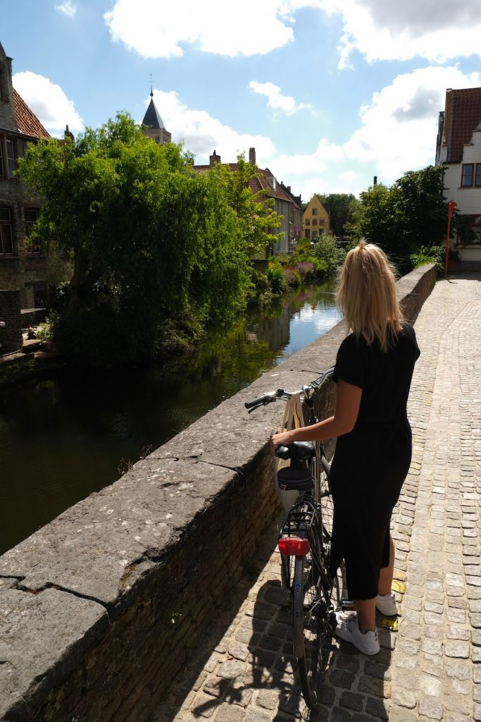 Brugge bezienswaardigheden fietsroute