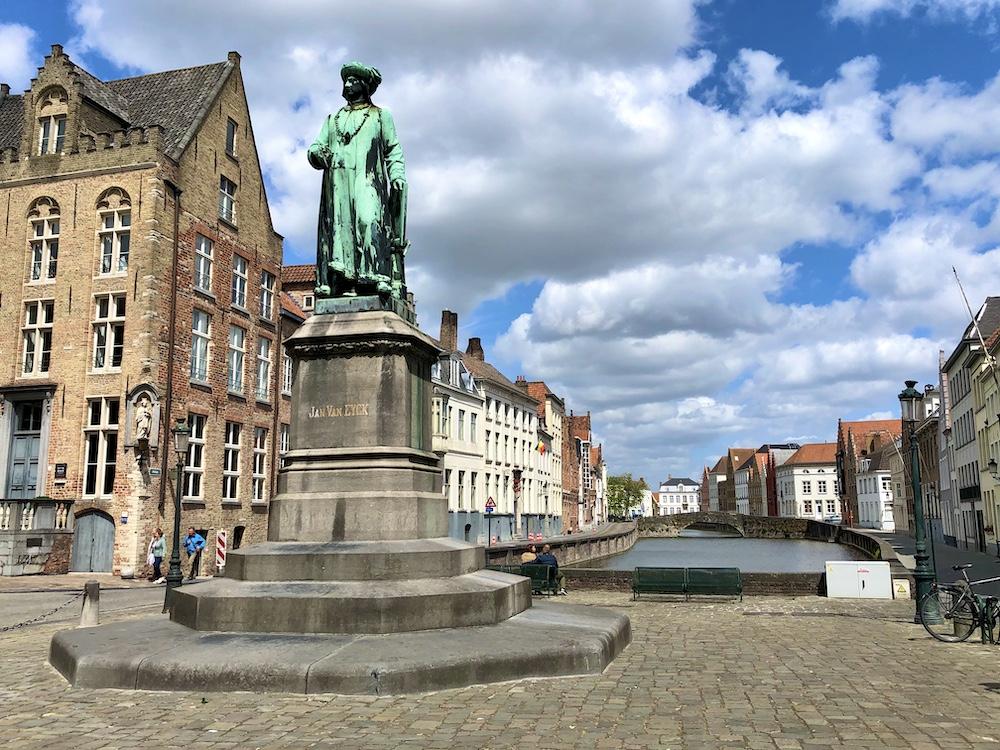 Brugge plein bezienswaardigheden
