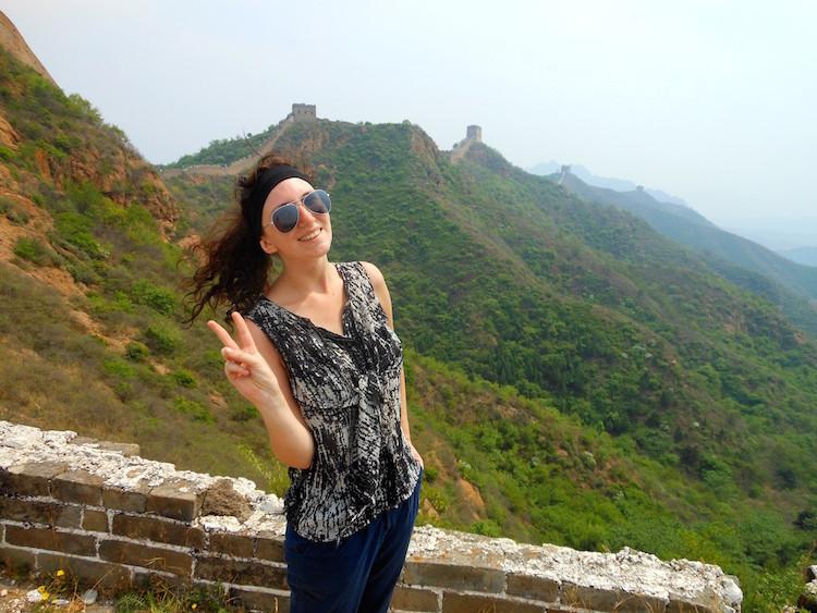 Bucketlist Jessica - Chinese muur