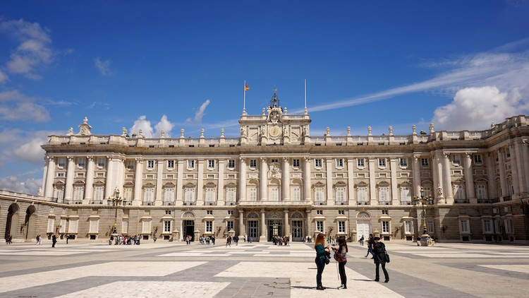 Bucketlist Jessica - Palacio Real Madrid