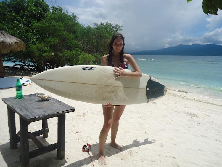 Bucketlist Jessica - surfen