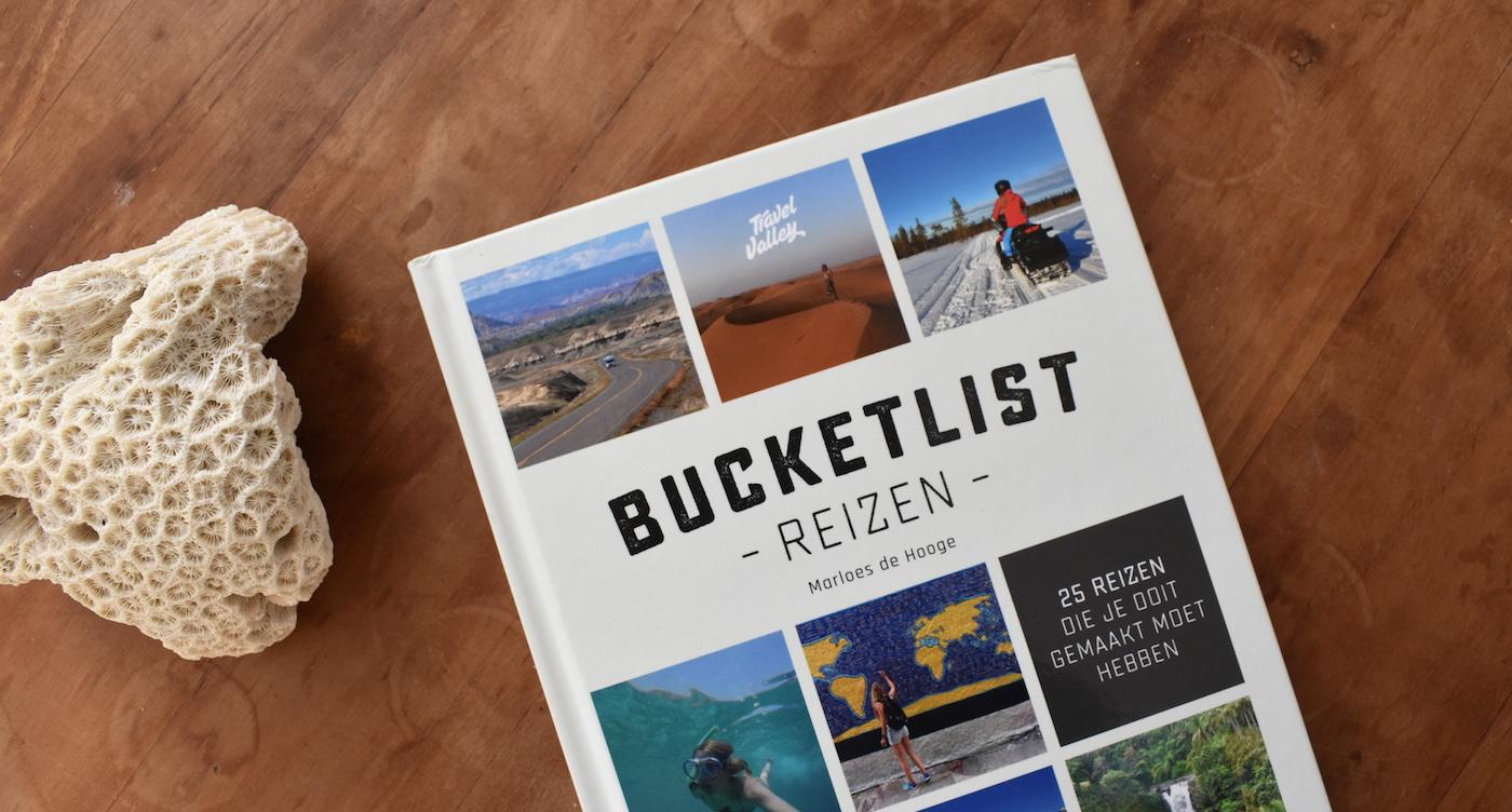 Bucketlist Reizen boek reisboek