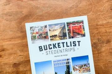 Bucketlist Stedentrips boek