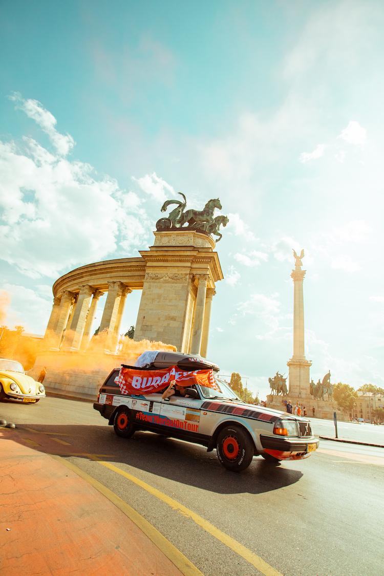 Budapest Rally auto's
