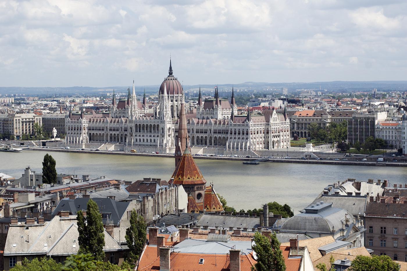 Budapest winter zomer Burchtheuvel
