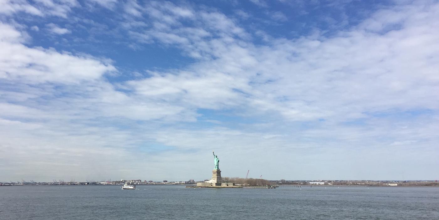 Budget New York City vrijheidsbeeld