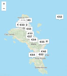Budget seychellen backpacken airbnb kosten
