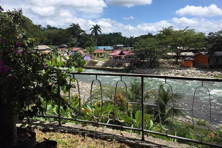 Bukit Lawang Sumatra dorpje
