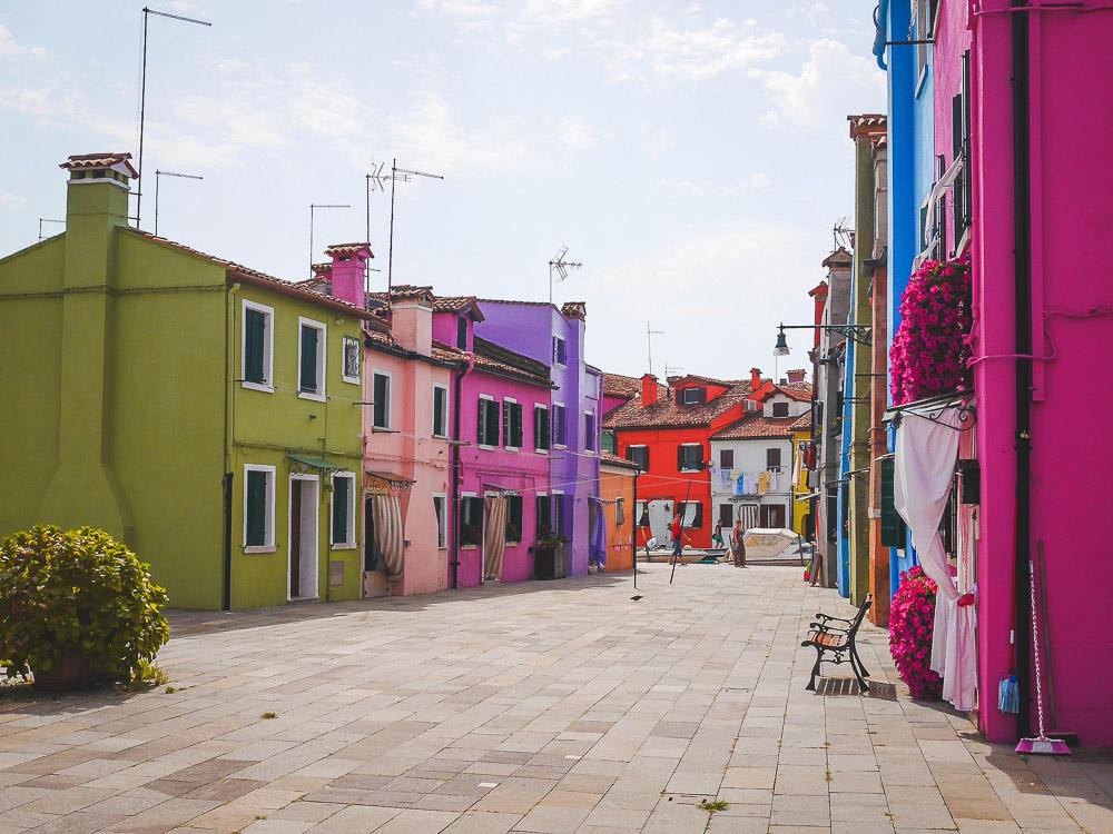rues de Burano Venise