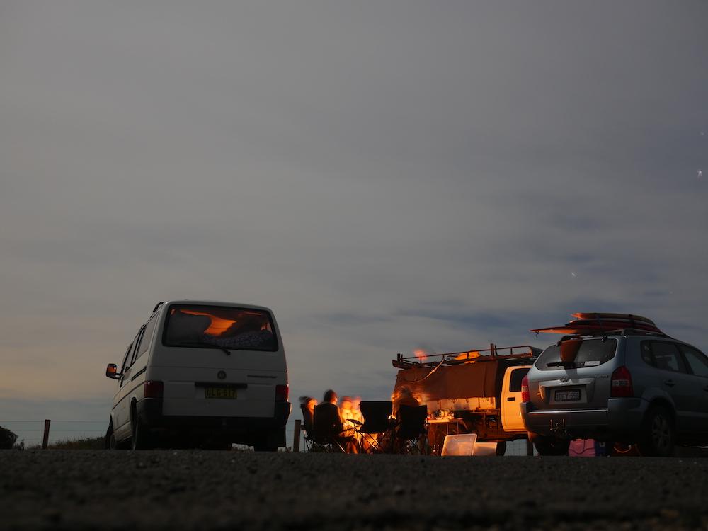 Byron Bay Australie kamperen busje