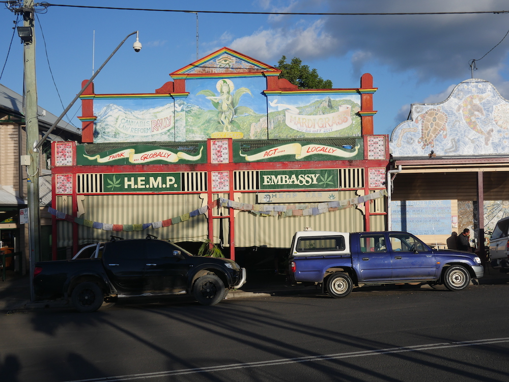 Byron Bay Nimbin Hemp Embassy