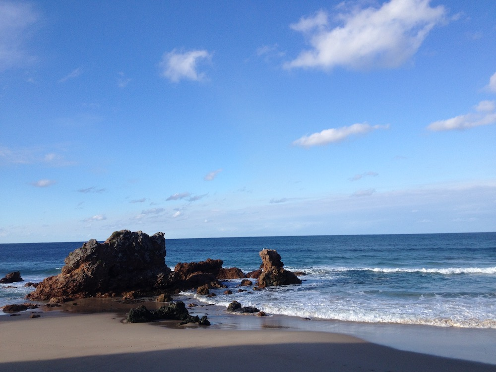 Byron bay strand rots in zee