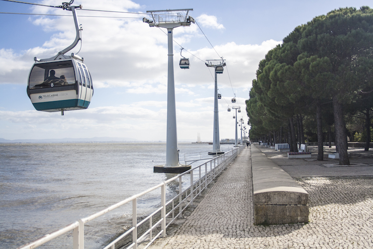 Cable car in lissabon
