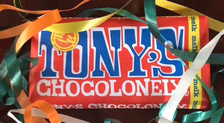 Cadeau Tony Chocolonely reep geven